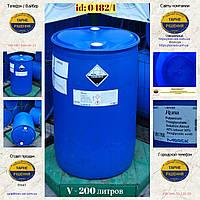 0482/1: Бочка (200 л. б/у пластикова ✦ Тіогліколят калію