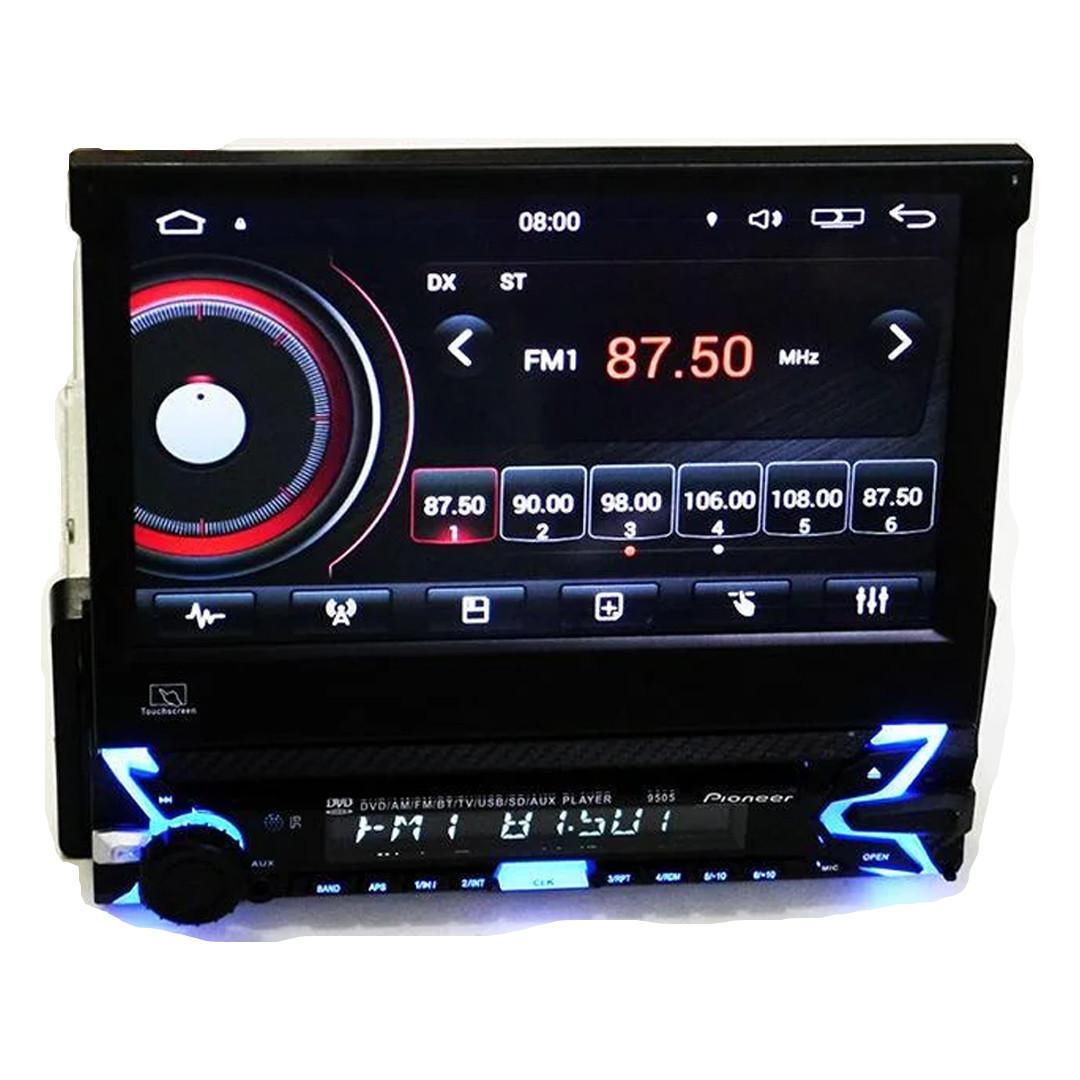 """Автомагнитола 1Din Pioneer 9505 с экраном 7"""" (магнитола ПИОНЕР ANDROID/Отличный звук/30 станций/AUX) + ПОДАРОК"""