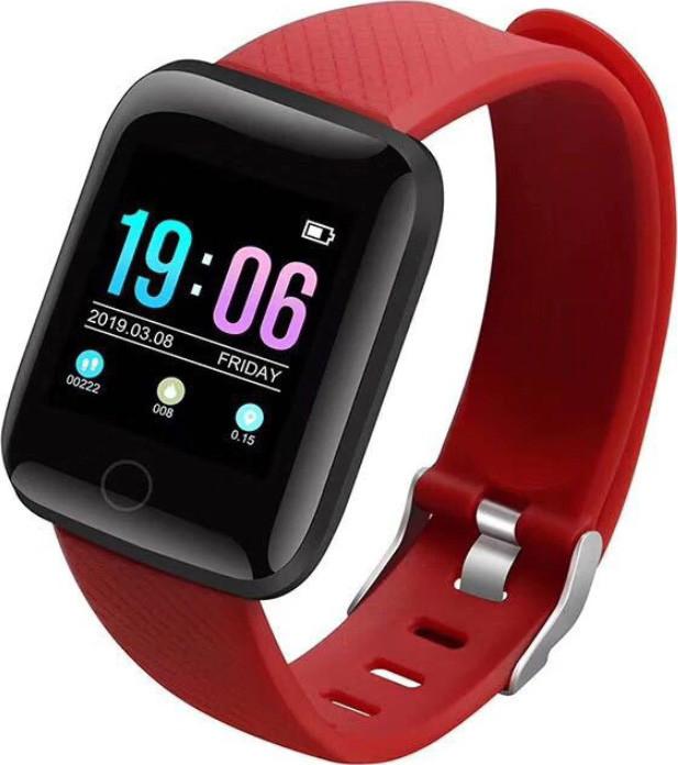 Часы Smart Watch D13/ID116 Plus Red Гарантия 1 месяц