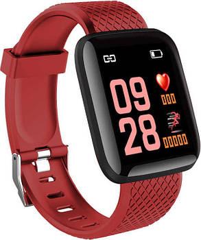 Часы Smart Watch D13/ID116 Plus Red Гарантия 1 месяц, фото 2