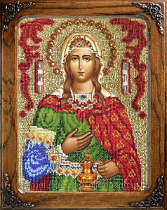 Набор для вышивки бисером Святая Светлана (Фотиния)