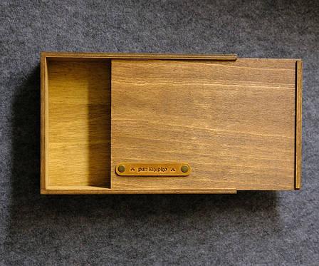 Дерев'яна коробка подарункова «NotaBoxW», фото 2