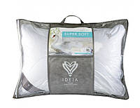 Подушка мягкая с внутренней подушкой 50х70 Super Soft Premium Ideia
