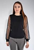 Блуза женская 119R015 цвет Черный