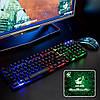 T5 Colorful Подсветка USB Проводная игра Клавиатура и 2000 точек на дюйм-1TopShop, фото 5