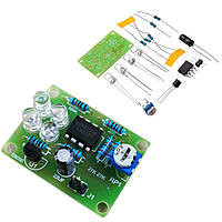 10шт LM358 Детали для дыхания Электронный DIY Синий LED Flash Лампа Электронное производство Набор - 1TopShop