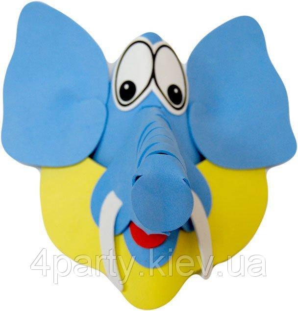 """Маска детская """"Слон"""" 240216-505"""