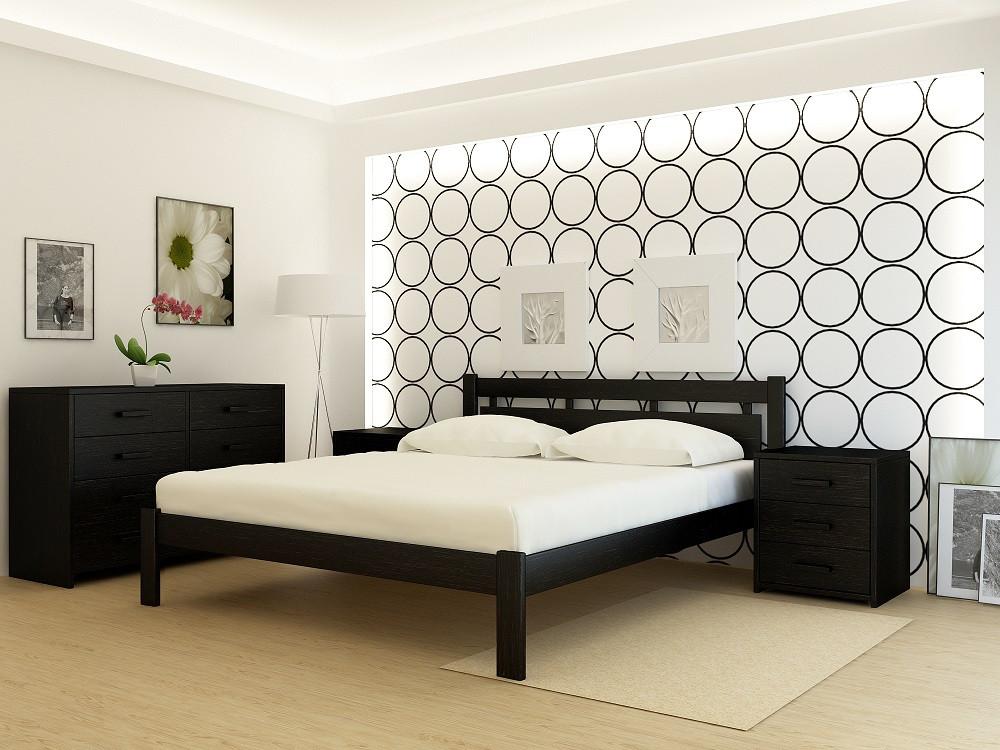 """Кровать деревянная TM """"YASON"""" Hong Kong (Массив Ольхи либо Ясеня)"""