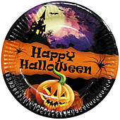 Тарелки праздничные Happy Halloween 6 шт 170216-099