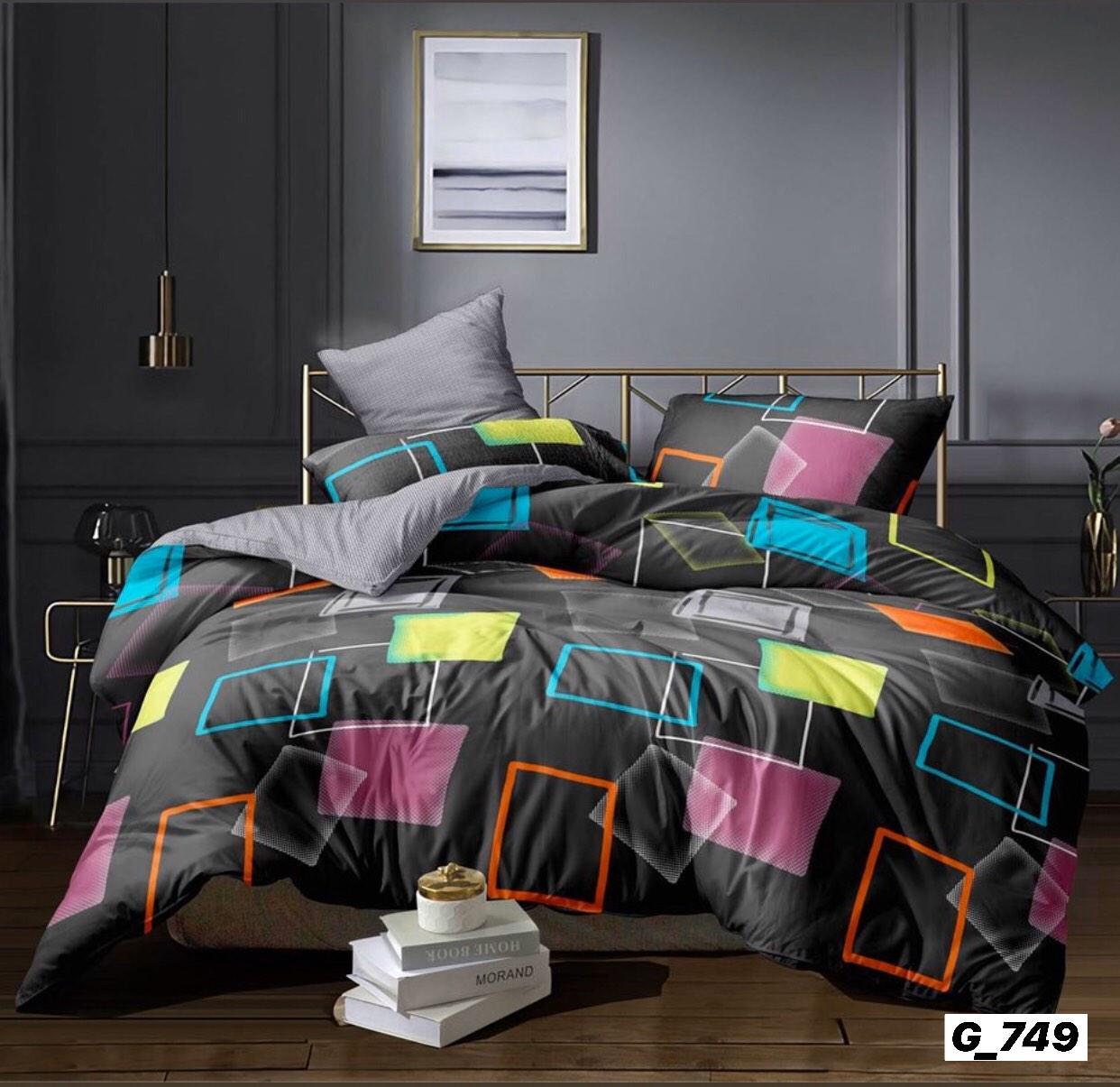 Качественное постельное бельё (евро размер)