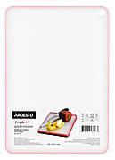 Обробна дошка Ardesto Fresh 20.5x29x0.7 см Пластик Рожевий (AR1401PP)