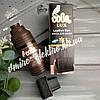 Краска для гладкой кожи темно коричневая Сова Lux 100 мл