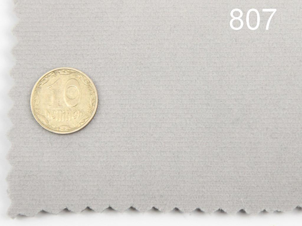 Высококачественный автовелюр (Турция, серый - 16807), на поролоне и сетке, тягучий.