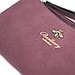 Женский Кошелек Портмоне Baellerry (N1093) на Кнопке для Карточек Искусственная Кожа Бордовый, фото 7