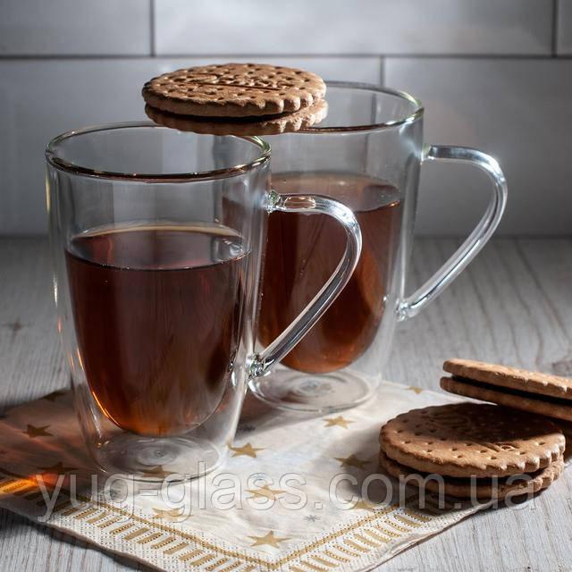 Кружка для чая с двойными стенками