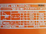 Сварочный инвертор ПЛАЗМА ММА-320D кейс, фото 4