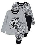 """Пижама  для мальчиков серая """"Трек"""" George (Англия) р.116 см. (5-6лет), фото 1"""