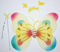 Набор крылья мотылек (радуга) 250216-046