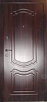 Входные металлические двери цена темный орех