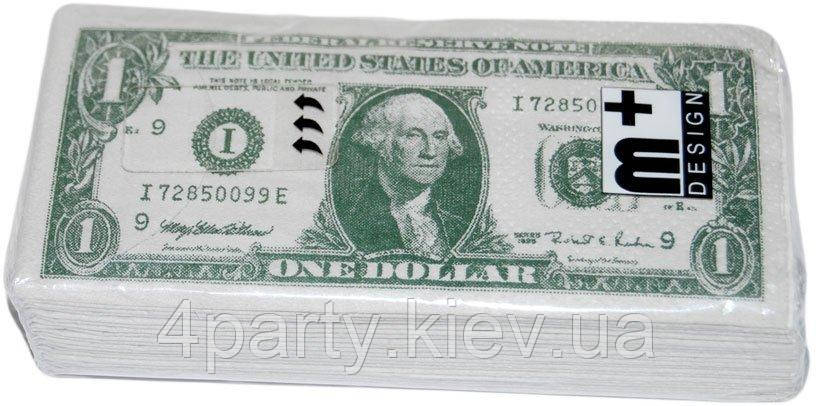 Салфетки носовые доллар 250216-467