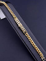 Браслет 'XUPING' Фианит 19 см. (позолота 18к), фото 1