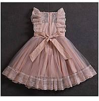 Нарядное детское платье Dinielephant для девочки (рост 104-110)