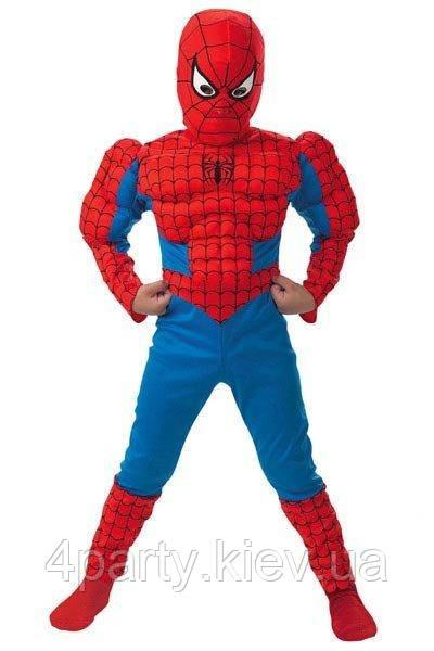 Костюм Человек паук объемный детский М 150216-303