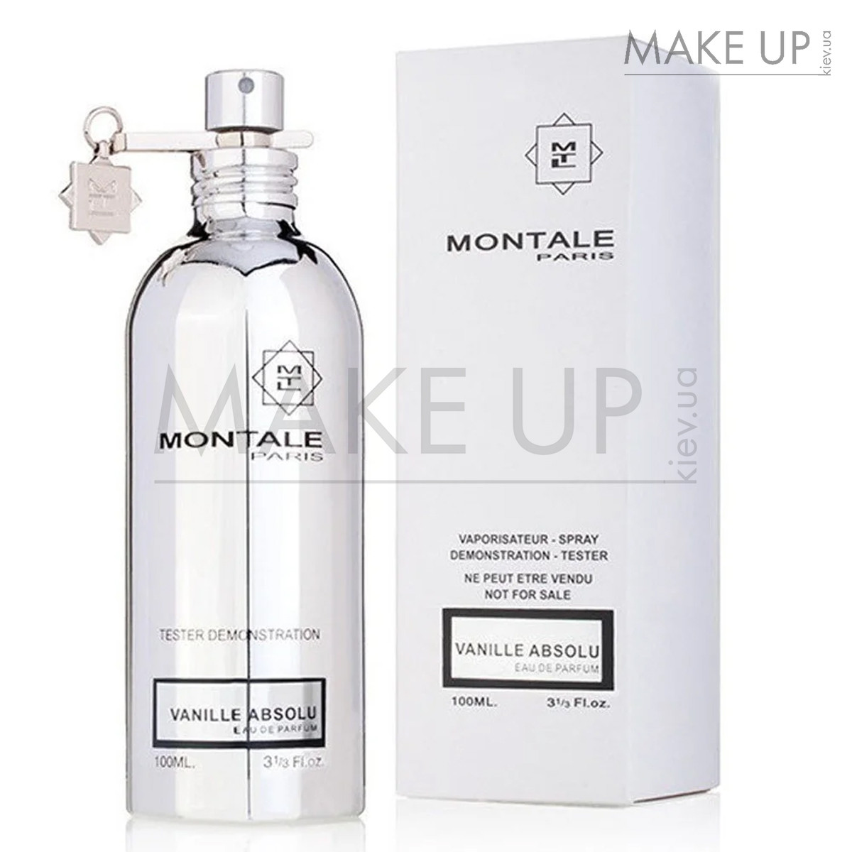 Tester женская парфюмированная вода Montale Vanille Absolu edp 100 мл. | Лиц. ОАЭ Тестер