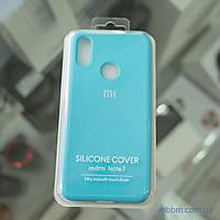 Чехол Original Soft Xiaomi Redmi Note 7 голубой/Light Blue
