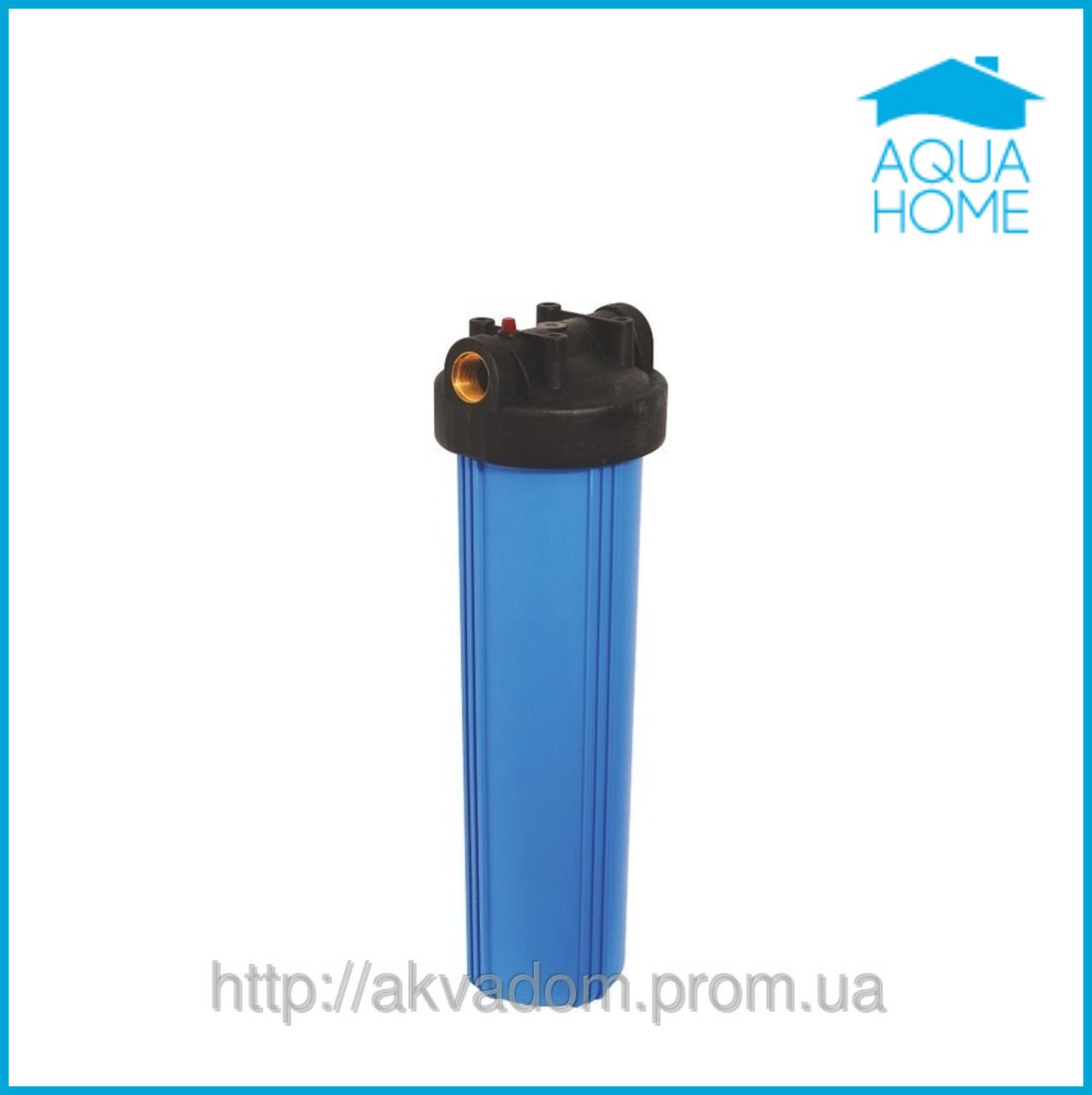 Фильтр Big Blue для холодной воды 20 дюймов Raifil PU897-BK1-PR латунный порт - Аквадом  фильтры для очистки воды,насосы для воды, увлажнители,отопление,химия для бассейнов в Харькове