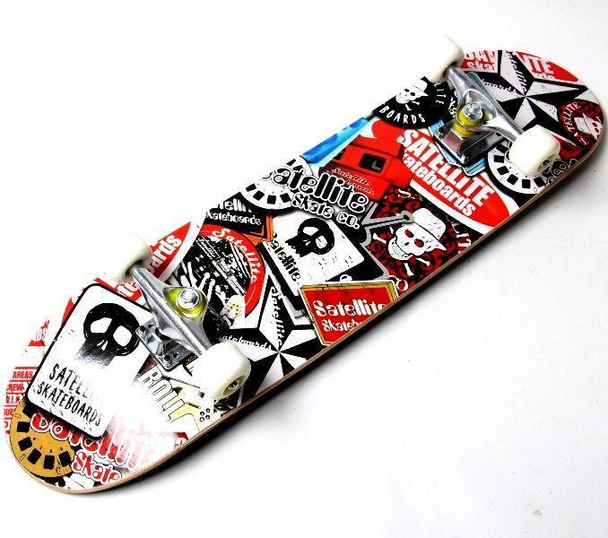 Скейтборд деревянный Scale Sports Ghost