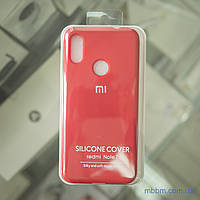 Чехол Original Soft Xiaomi Redmi Note 7 красный/Dark Red