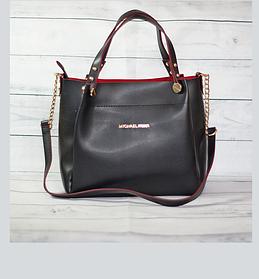 Средняя мягкая классическая сумочка