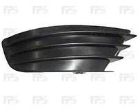 Решетка бампера правая Citroen C4 05-10 без отверстия под противотуманную фару (FPS)