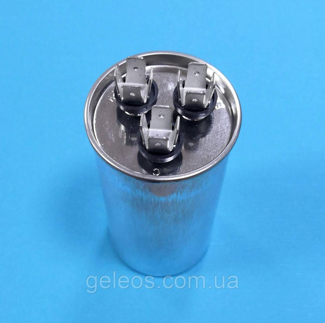 Конденсатор CBB65 35+1.5мкФ 450V пусковой /рабочий металл. Китай