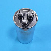 Конденсатор CBB65 35+1.5мкФ 450V пусковой /рабочий металл. Китай, фото 1
