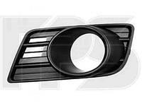 Решетка бампера правая Suzuki Swift 05-10 с отверстием под противотуманную фару (FPS)