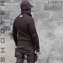 """Свитер с капюшоном """"СТРЕЛОК"""" ZIPPER BLACK, фото 3"""