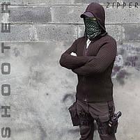 """Свитер с капюшоном """"СТРЕЛОК"""" ZIPPER BLACK, фото 4"""