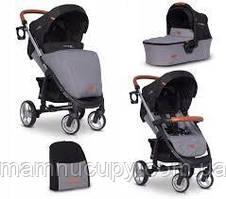 Детская универсальная коляска 2 в 1 EasyGo Virage Ecco Antracite 2019