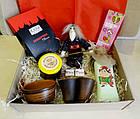 """Вкусный рождественский подарочный набор """"Посмакуємо!""""  с наливкой, вареньем и кофе, фото 2"""
