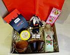 """Вкусный рождественский подарочный набор """"Посмакуємо!""""  с наливкой, вареньем и кофе, фото 3"""