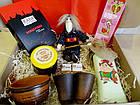 """Вкусный рождественский подарочный набор """"Посмакуємо!""""  с наливкой, вареньем и кофе, фото 4"""