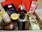 """Вкусный рождественский подарочный набор """"Посмакуємо!""""  с наливкой, вареньем и кофе, фото 5"""