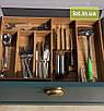 Деревянный лоток для столовых приборов Lot k407 600х400. (индивидуальные размеры), фото 4