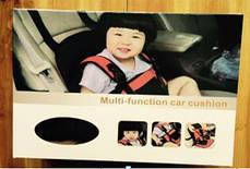 Бескаркасное автокресло для детей Красный, фото 2