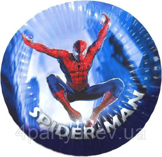 Тарелки десертные Человек паук 6 шт 140316-053