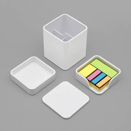 Xiaomi LEMO Desktop Органайзер 3 в 1 ABS Пластик Белый Хранение Коробка Карточка Ручка - 1TopShop, фото 2