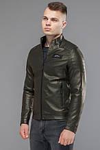 Молодіжна куртка чоловіча осінньо-весняна колір хакі модель 36361