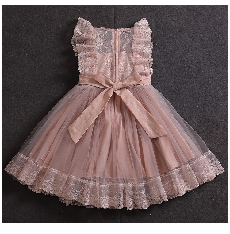 Нарядное детское платье Dinielephant для девочки (рост 98-104)